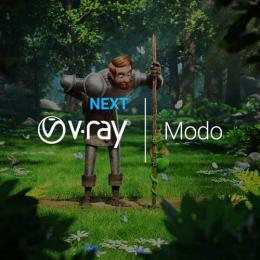 V-Ray Next 4.1 for MODO