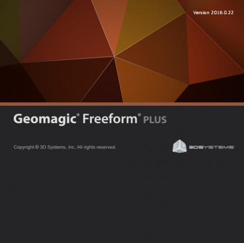 Geomagic Freeform Plus 2016